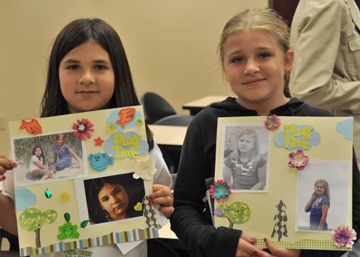 Kenosha Library Kids Scrapbook Class
