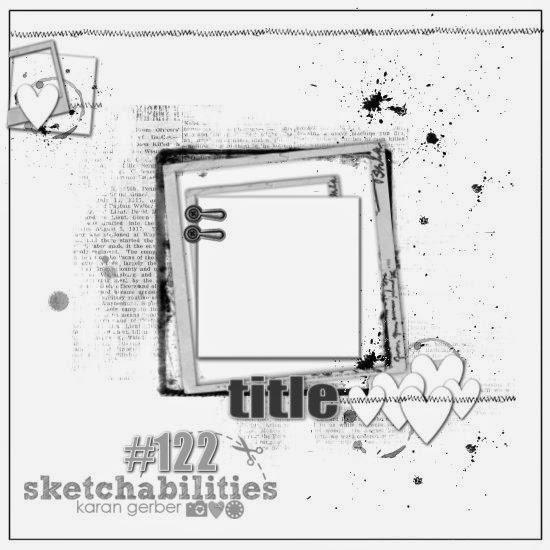 August Sketchabilities sketch