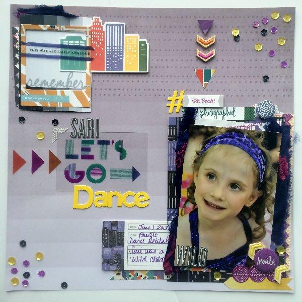 @jodyspiegelhoff @cliquekits, #scrapbook #layout #inspiration #basicgrey #secondcity #spiegelmomscraps #sequins #fall #halloween #pinkfreshstudio #wooddropstickers #jillibeansoup #layeringtips