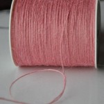 May Arts Pink Burlap String