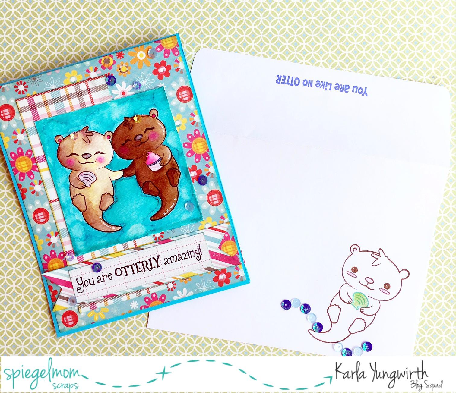 Otterly Amazing Birthday Card